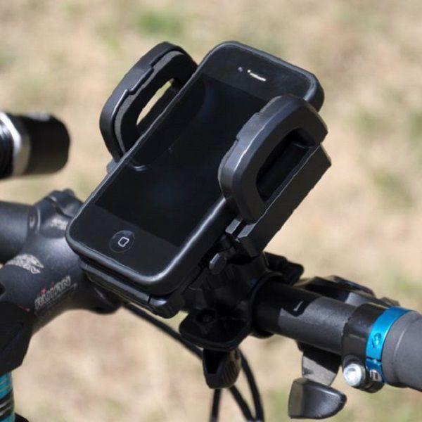自転車スマホ - 自転車のハンドルにスマホを固定することができる、自転車用スマホホルダーです
